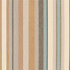 Metropolis Stripe #woven #fabric in #sand from the Chelsea collection. #Thibaut