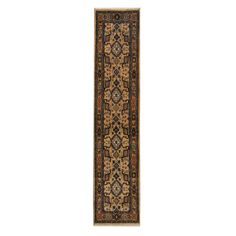 Herat Oriental Indo Hand-knotted Mahal / Gold Rug
