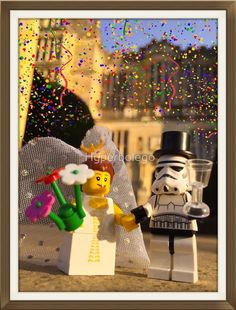 Hyperbolego – Lego Inspired Original Photography Stormtrooper Wedding