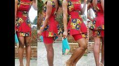 Ankara Short Skirt and Blouse Styles for Ladies: Simple Styles Collectio...