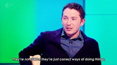 """""""They're not OCDs, they're just correct ways of doing things"""" Jon Richardson British Humor, British Comedy, English Comedy, Comedy Show, Stand Up Comedy, Jon Richardson, 8 Out Of 10 Cats, Mock The Week, Funny People"""
