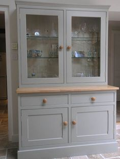pictures of shaker kitchens Shaker Style Kitchens, Shaker Kitchen, Kitchen Dresser, Hand Painted Furniture, China Cabinet, Kitchen Designs, Kitchen Ideas, Google Search, Pictures