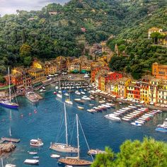 Portofino, Italy. Photo courtesy of earlyandladygray on Instagram.