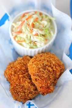 Oven-Fried Chicken w