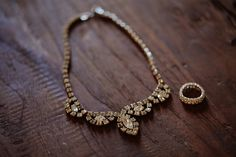 My mom had a necklace just like this she wore to her HS prom (1954)...photo by maria hedengren