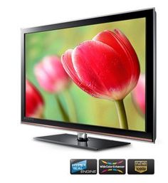 "Samsung LA40D503F7R 40"" Full HD 1080P Multi-system PAL NTSC LCD TV Dual Voltage 100-240 Volts by Samsung. $585.00. Main Features  Screen Size (Inches) 40  Type of Television LCD    Picture Features  Resolution (Pixels) 1920 x 1080  Picture In Picture    Contrast Ratio High Contrast    Audio Features  Selectable Sound Modes---  Audio Output (PMPO) (Watts) 10 Watts RMS  Stereo Playback    Connectivity  S-Video Input    DVI Input    HDMI Input    USB Port   VGA Input    Dimensions  ..."