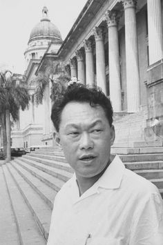 Lee Kuan Yew in 1965.