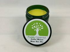 Organic scented pomade - Choose Lavender Rosemary or Fir Needle as well as glossy or matte finish - All natural styling wax made using organic butters and oils, beeswax, therapeutic grade essential oils, and organic arrowroot powder for matte finish - 2oz for $8.99  #allnatural #organic #handmade #hair #hairstyle