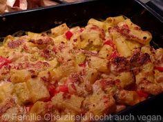 Nudeln aus dem Backofen - Familie Charzinski kocht auch vegan