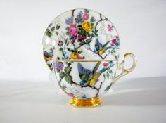 Reserved Listing For FM  Old Royal Footed Tea Cup & by oldandnew8, $20.00