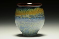 Anything Cup  Tom Turner Porcelain, wheel thrown, cone 9 electric, 4 x 3.75 x 3.75 inches.