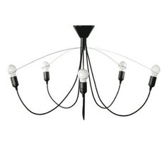 Heavy Guy Chandelier Black, 89€, now featured on Fab.