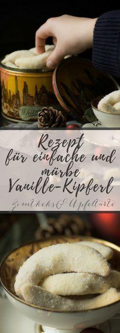 Mein bestes Rezept für köstliche mürbe Vanille-Kipferl - einfach selber backen mit viel Vanille und Mandeln