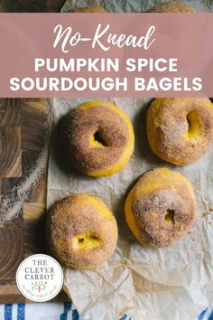 After you make bagels at home, you'll never want the store-bought ones again! I've upgraded my popular sourdough bagel recipe with pumpkin puree, and the result is something really special. And it's much easier than you might think!