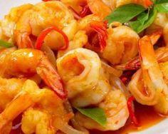 Délice de crevettes piquantes : http://www.fourchette-et-bikini.fr/recettes/recettes-minceur/delice-de-crevettes-piquantes.html