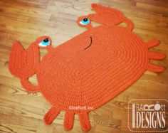 CROCHET PATTERN Joyce and Justin Whale Rug Nursery Mat Carpet