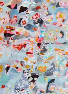 I dream a lot/ Large abstract painting / fine by SarahGiannobile, $2000.00