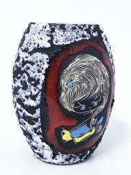 Giulianelli Ceramiche Vase 50er Jahre