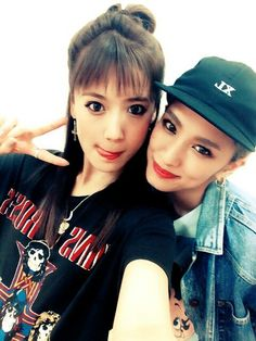 Karen Fujii & Yurino Japanese Girl Group, Happiness, Culture, Celebrities, Building, Happy, Style, Swag, Celebs