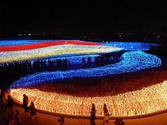 Festival de luzes de Inverno – Kuwana (Japão)