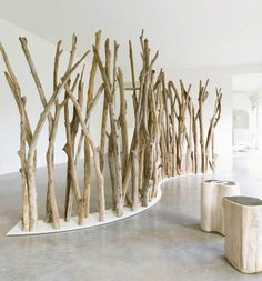 Ocean Home |   Luxurious Driftwood Furniture from the World's Beaches