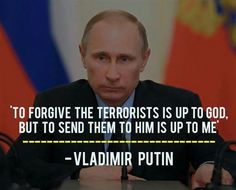 #putin I love Putin.  He has promised to save Christians and fight the radical Islamists so of course, obama hates him.