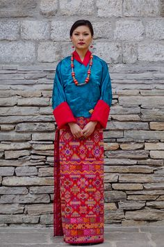 From the sublime wearabout -Bhutanese street style.