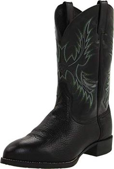 ca8e09783 Ariat Men's Heritage Stockman Western Cowboy Boot Review Western Shoes,  Western Boots For Men,