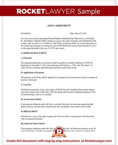 Eviction Notice Template  Personal Loan Contract Template Free