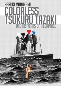 Colorless Tsukuru Tazaki and His Years Of Pilgrimage - bookcoverPoster available on Etsy