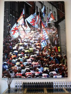 Peloton poster in a bicycle shop near Camberwell Junction, Melbourne, Australia