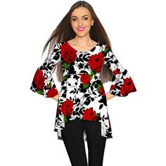 Our super soft and cozy bohemian-inspired Ava empire waist tunic is made from the highest quality, eco-friendly stretch fabric. Lined on the top. Flatters different body types. This romantic high-low boho top is a great addition to your daily wardrobe. Will look great with a pair of jeans for a casual day or night out.  THE EXCLUSIVE PLACEMENT OF THE PRINT HIGHLIGHTS THE ORIGINALITY OF THE DESIGN  Prices are inclusive of all taxes. FREE US SHIPPING  Designed and sewn by hand in Miami, FL…