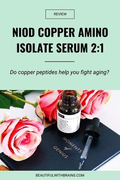 Niod Copper Amino Isolate Serum targets the signs of aging INDIRECTLY: it keeps the skin in a constant state of repair, making sure the processes that produce collagen, reduce inflammation, and heal skin are working well. If Niod Copper Amino Isolate Serum could do all this before, can you imagine how much better it works now that they've upgraded the formula? Click pin to find out! #skincareproductreviews #niod #copperamino Anti Aging Treatments, How To Get Rid Of Acne, Prevent Wrinkles, Even Skin Tone, How To Treat Acne, Skin Firming, Acne Prone Skin, Anti Aging Skin Care