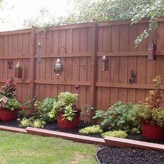 Lanterns....birdfeeders.......planters.