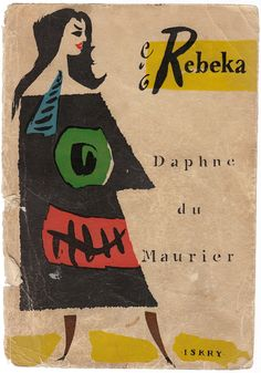 """Rebeka"", Warszawa 1958, cover by Jan Młodożeniec."