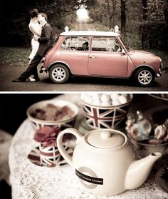 Mini at the wedding, yes please!