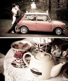 #brits #london #tea #wedding