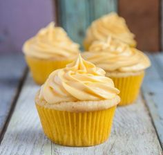 Gluten-Free Lemon Cupcakes | 18 Ridiculously Decadent Cupcakes You Have To Make Before You Die