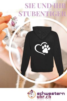 Du und dein Stubentiger Sweatshirts, Sweaters, Fashion, Fashion Styles, Comfortable Work Shoes, Funny Hoodies, Jacket With Hoodie, Rain Jacket, Hang In There