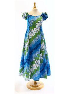 Hula Dress 323 - Hula Dress Size Order - | AlohaOutlet SelectShop