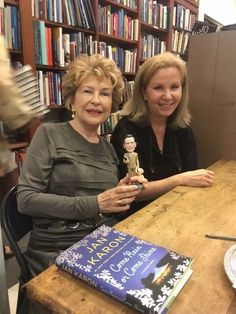 Book signing with Jan Karon and artist Nancy Bass in Charlottesville, VA | September 2015
