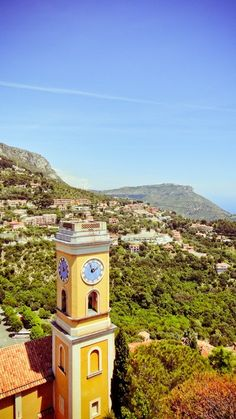 The clock tower...Eze