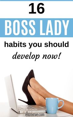 What does it mean to be a boss lady? How are some women super successful? If you're interested in self-development or self-care, then these tips are for you! Here's how to become a in These are 16 self-improvement habits you should adopt now! Boss Babe, Girl Boss, Self Development, Personal Development, Types Of Education, Project Success, How To Become, How To Make Money, National Institutes Of Health