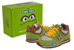 KickThis: NB vs Sesame St!   MiniHipster.com :::: kids street fashion & children's clothing trends / kidswear & childrenswear / childrens fashion & kids clothing trends