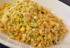 Couscous with corn & scallions from Bewitching Kitchen Main Dishes, Side Dishes, Yummy Recipes, Yummy Food, Brown Butter, Couscous, Health Problems, Fried Rice, Lighter