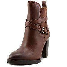 3dbac48ee Coach jackson women brown ankle boot Ankle Boots Marrom, Botas De Couro  Marrom, Botas