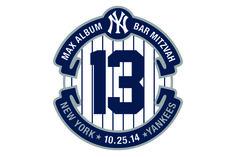 Baseball Logo Baseball Themed Bar Mitzvah Logo