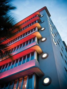 "Art Deco South Beach Miami 2""  by Darren Martin"