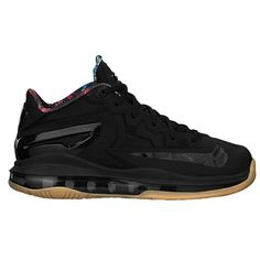 e4f1b5f676896e Nike Air Max LeBron XI Low - Boys  Grade School - Basketball - Shoes -  Black Metallic Gold Hyper Crimson
