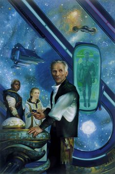 Donato Giancola - Cover illustration for the debut novel Old Man's War  by John Scalzi, 2005